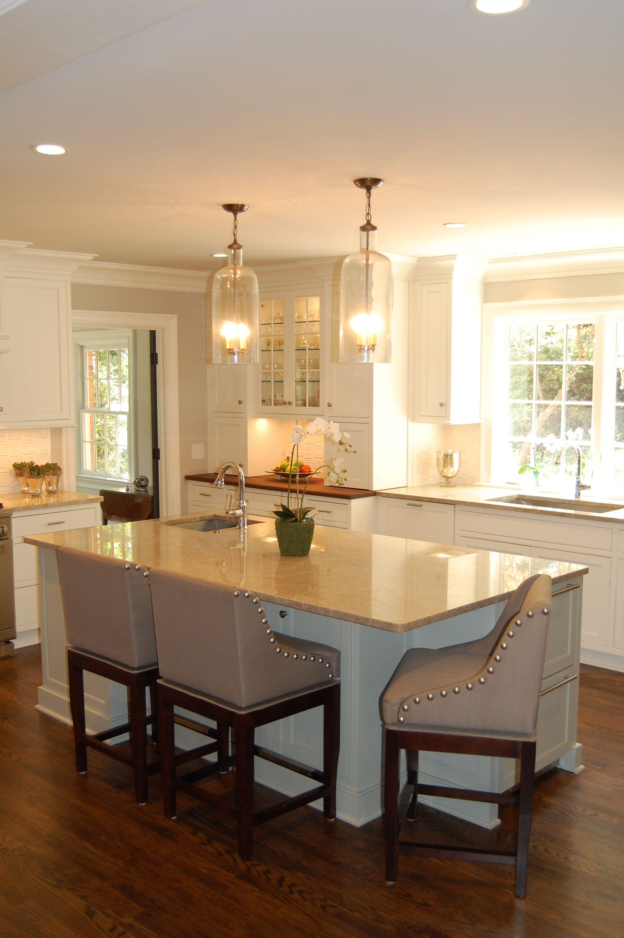 Elegant Open Kitchen | Karen Kettler Design | Charlotte, NC