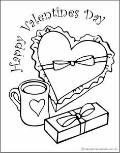 son happy valentine\'s day coloring pages - Google Search | Coloring ...