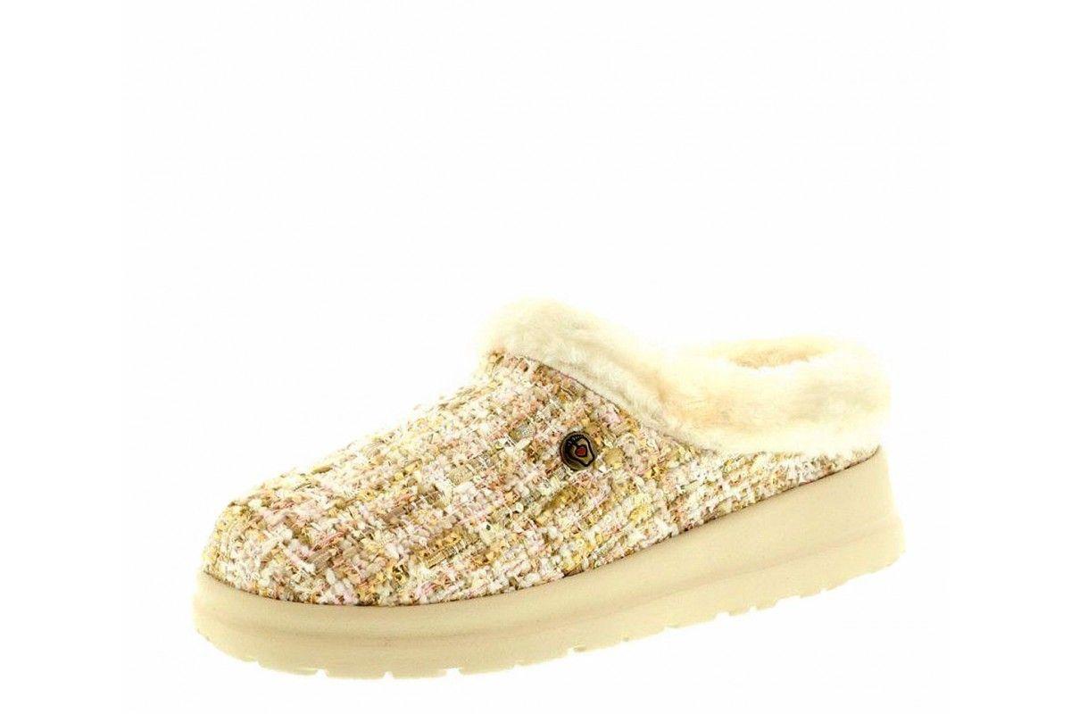 b7fc63dd Skechers Cherish Pomp & Circumstance Natural Memory Foam Slippers ...