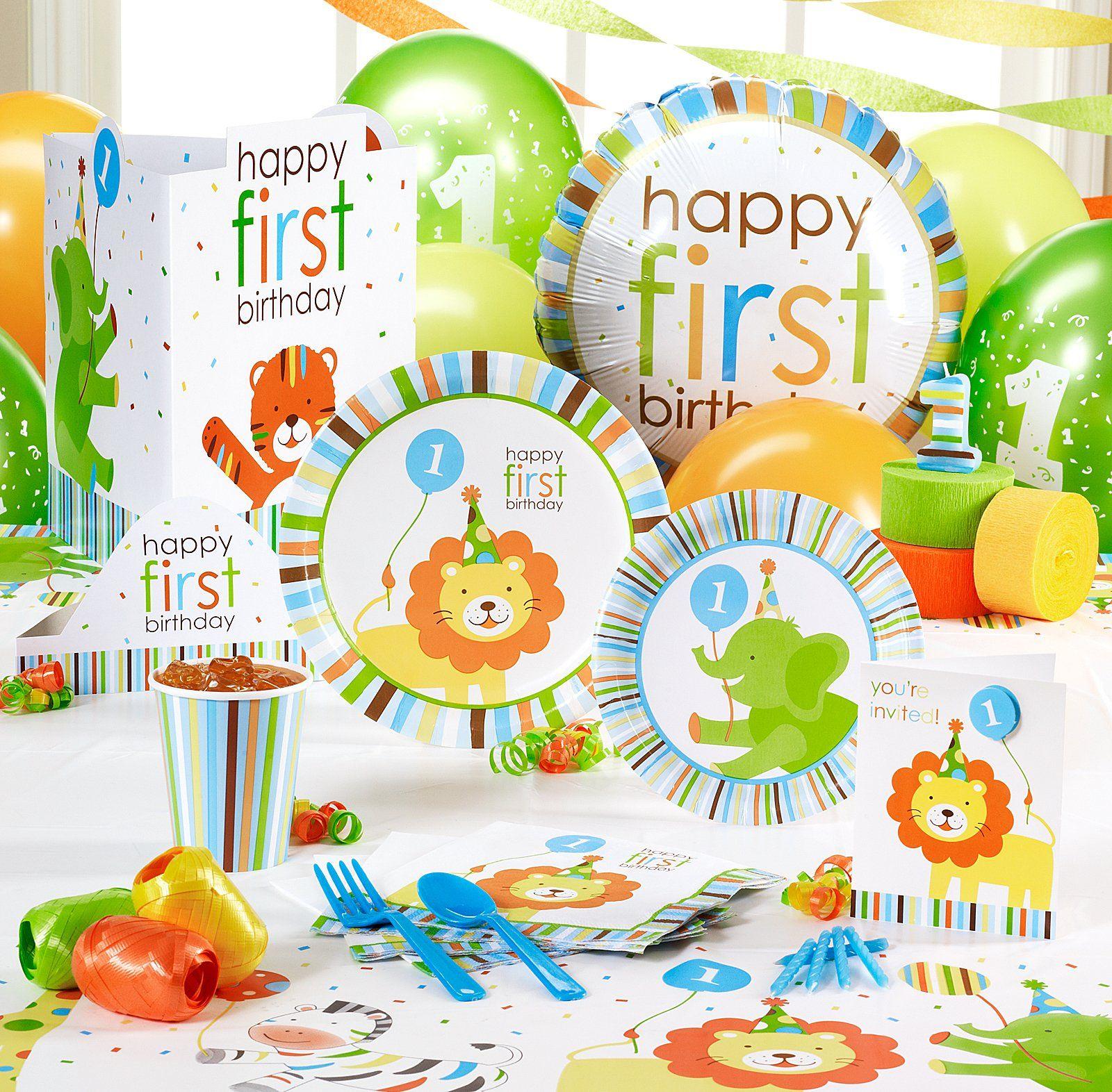 Jungle theme birthday decorations Birthdays Pinterest Jungle