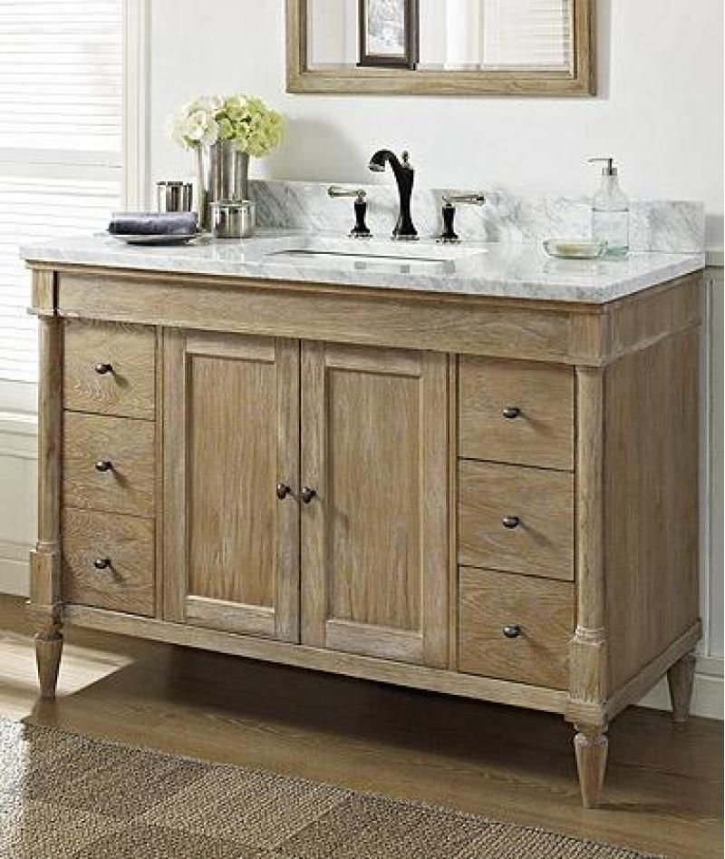 "Fairmont Designs 'Rustic Chic' 48"" bath vanity Bathroom"