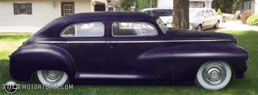 1948 Dodge Town Sedan 3 1 2 Chop