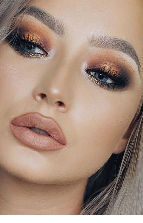 Stunning Wedding Makeup Idea - ADD @mwazomela FOR MORE PINS LIKE THIS DAILY eyeshadow, Stunning We
