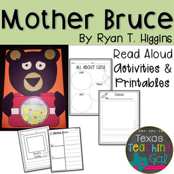 Mother Bruce Read Aloud Printables Activities Read Aloud