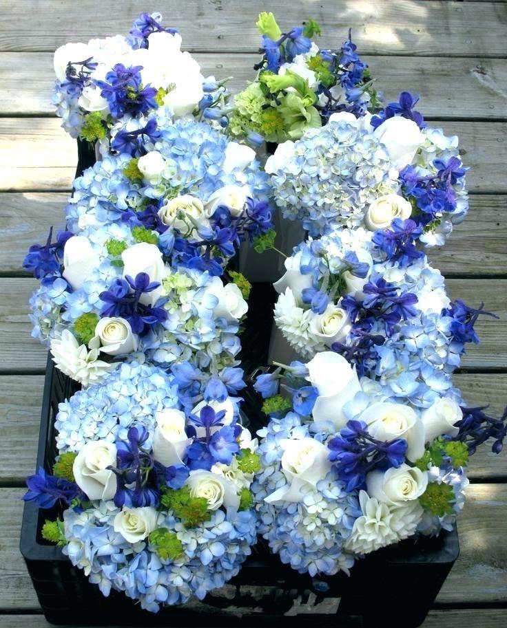 Blue And Purple Flower Arrangements Dark Blue Flowers For