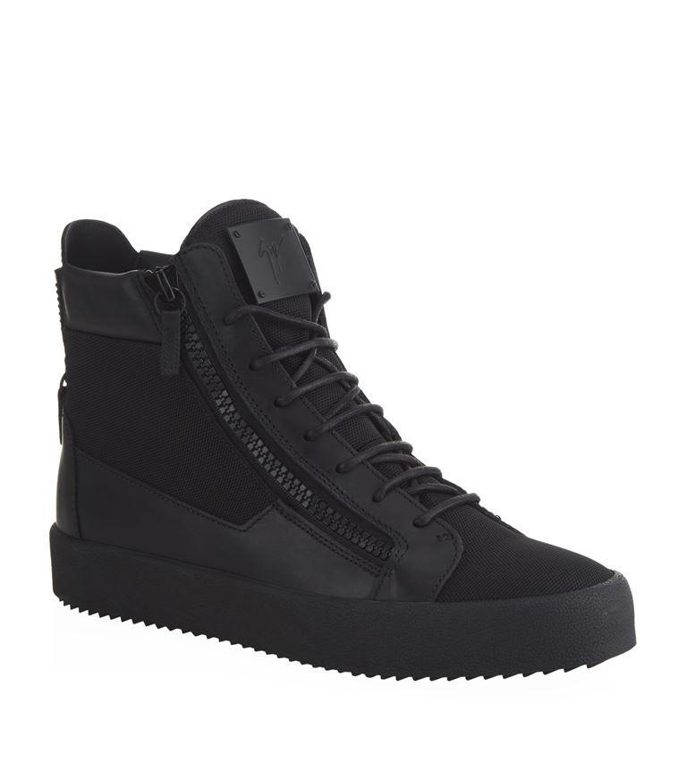 a984c421fd667 Shoes: High Top Sneakers Giuseppe Zanotti Ballistic High-Top Sneaker Mens High  Top Shoes