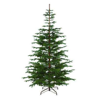 75 ft Indoor Norwegian Spruce Hinged Artificial Christmas Tree