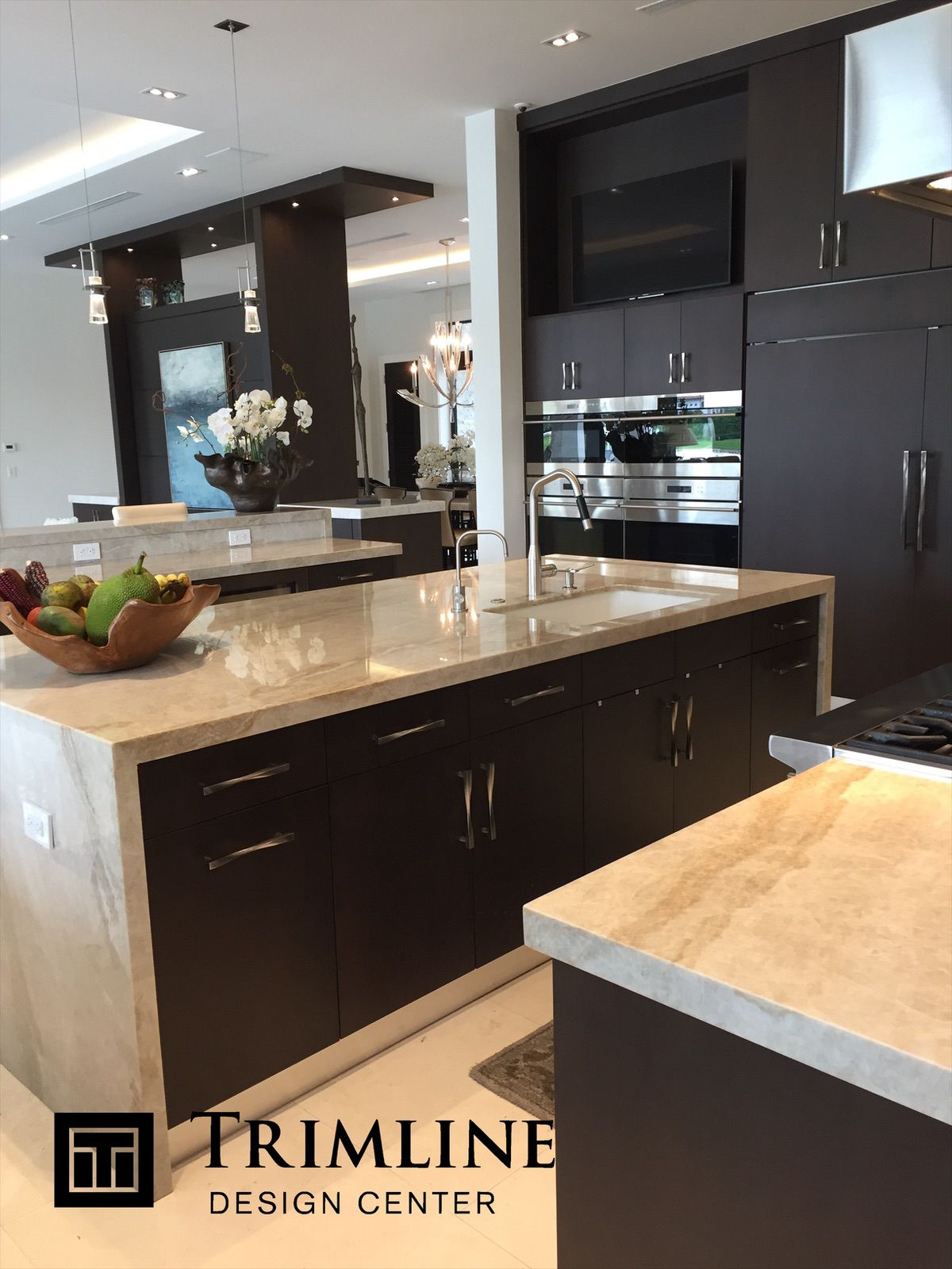 Pin By Trimline Design Center On Contemporary Kitchens Kitchen Design Kitchen Cabinet Design Custom Kitchen Cabinets