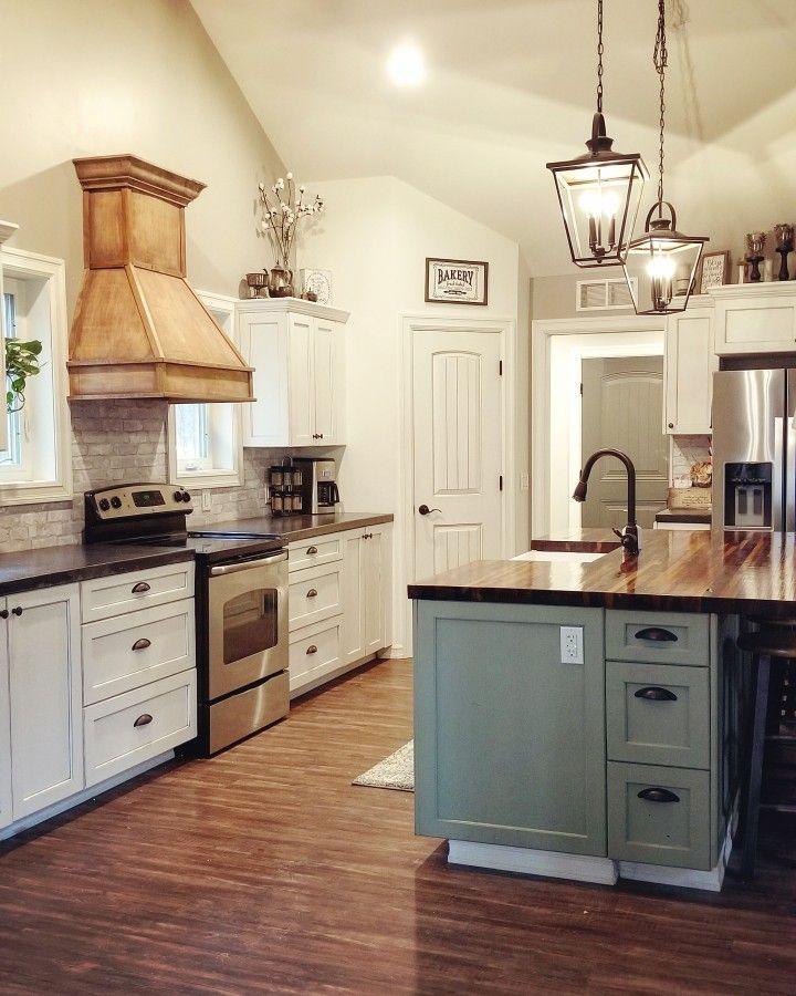 Farmhouse kitchen Design my kitchen, Diy concrete