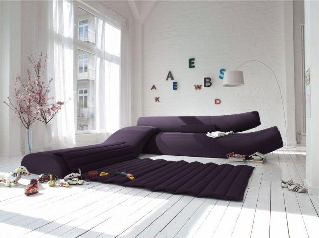 Ausgefallene wohnzimmer ~ Designmöbel liegen im trend wohnzimmereinrichtung ausfallen und