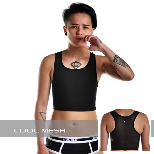 Cool Mesh Velcro Short Chest Binder