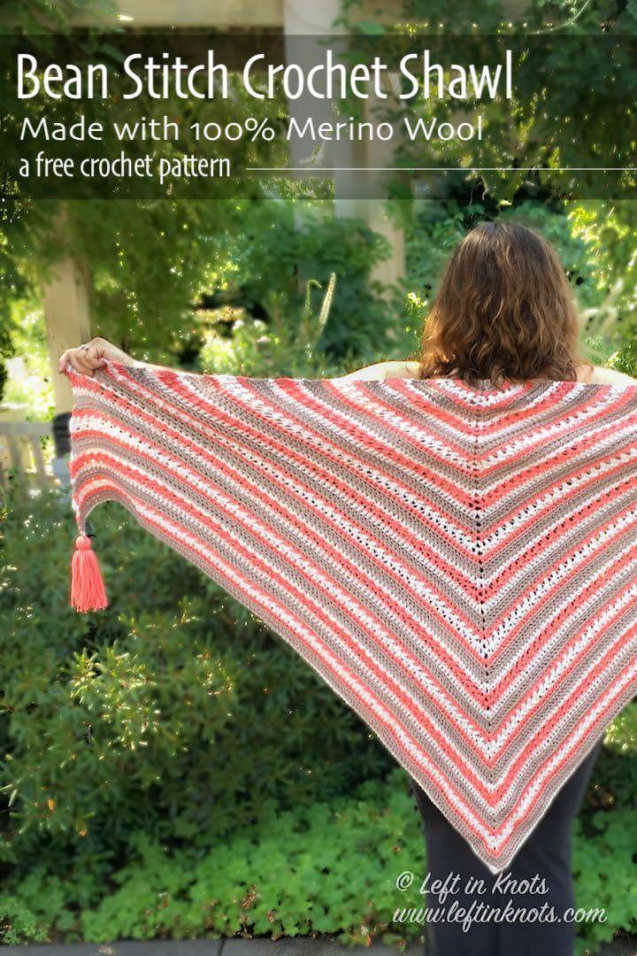 Breckenridge Wrap Free Triangle Shawl Crochet Pattern Free