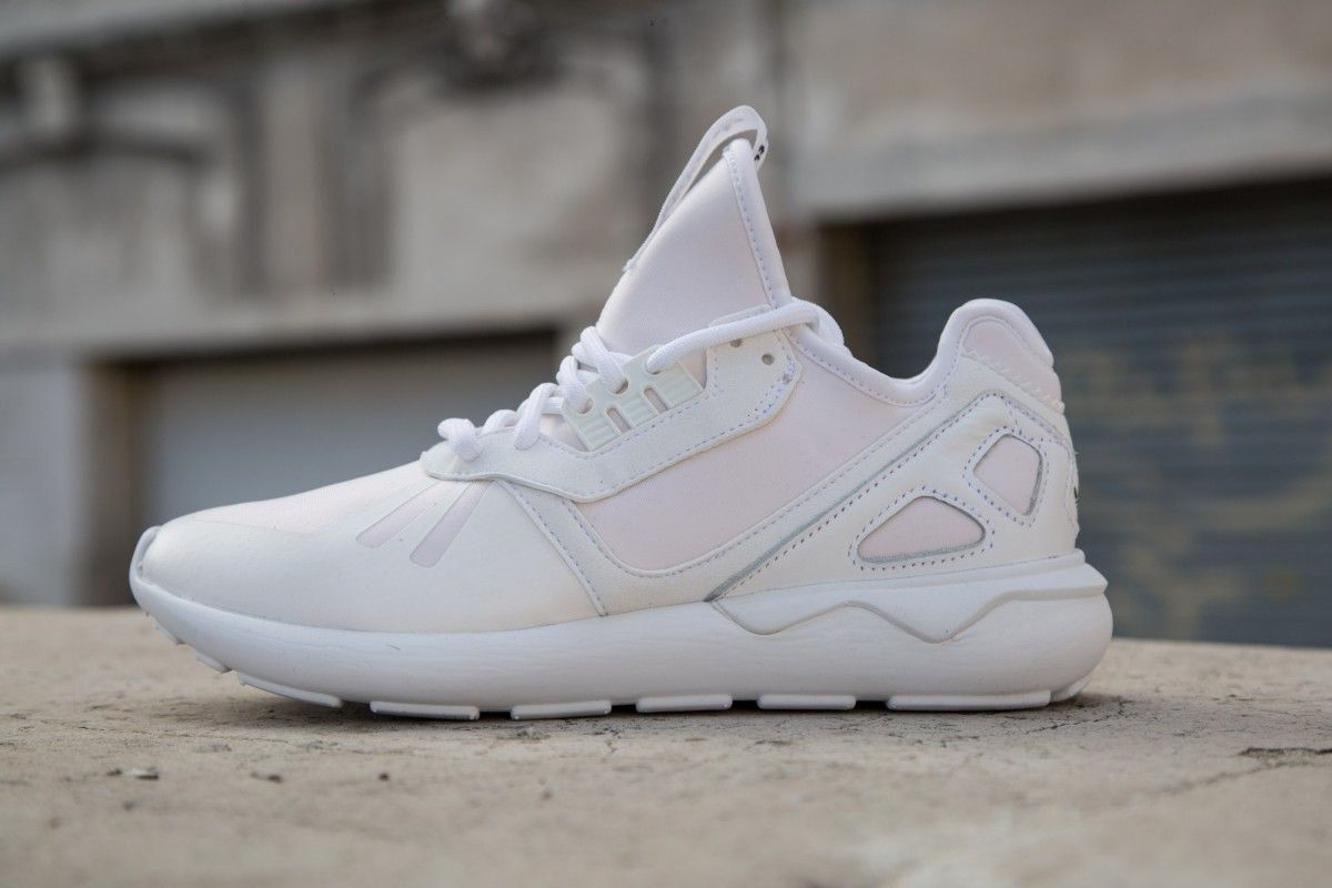 Baskets homme adidas originals tubular runner blancblanc