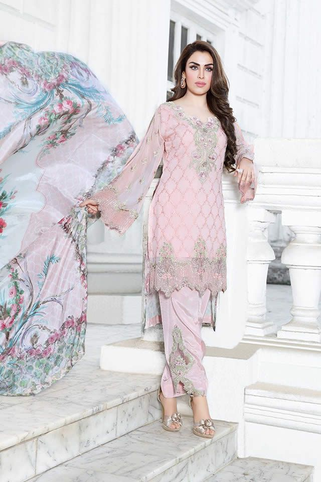 1338903775 Khas Embroidered Chiffon Collection 2017 Khas Dresses | Creative ...
