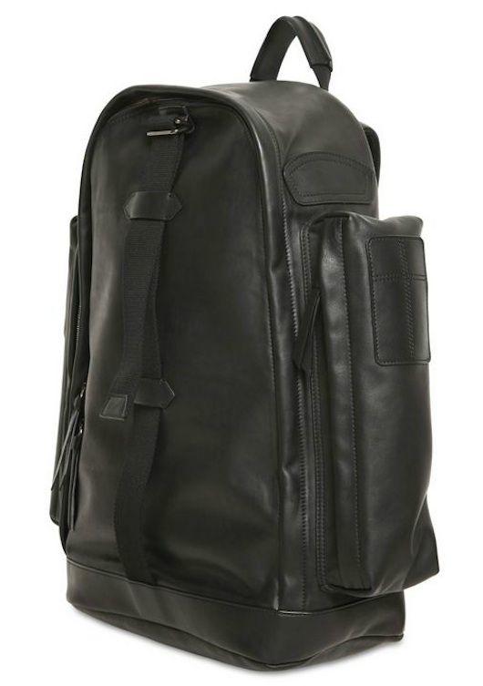 Givenchy Large Pockets Black Leather Backpack « UpscaleHype  e4999e357db55