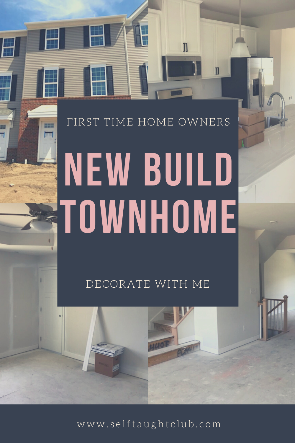 New build townhome. First time home owners. Decorate our townhome with me! #newconstruction #townhome #newbuild #homedecor