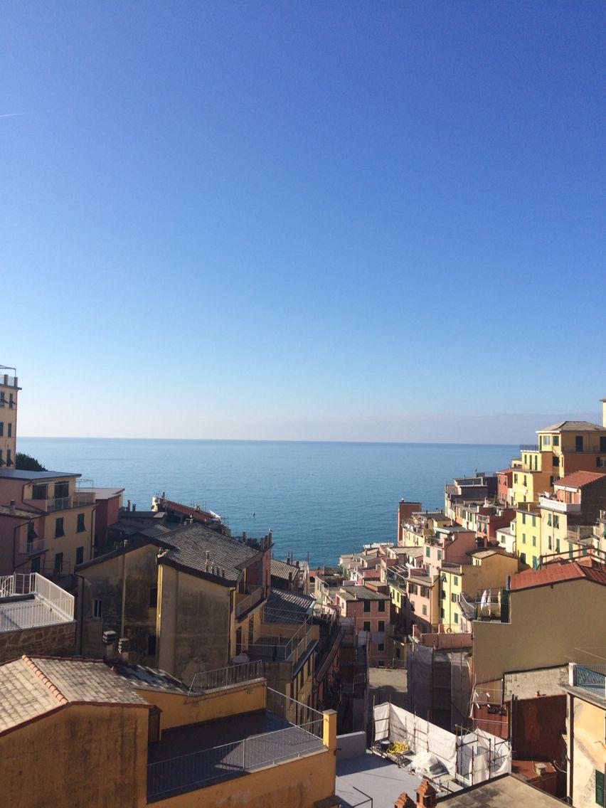 Sunny day in Riomaggiore