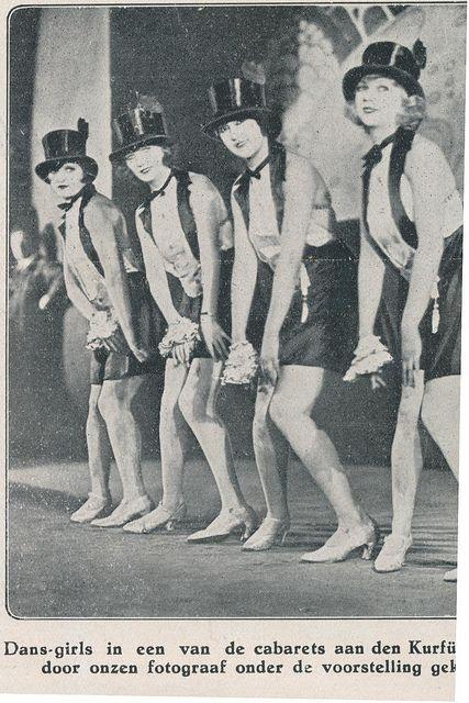 berlin 1927 cabarett Kdamm 1927 - Cabaret Dancers