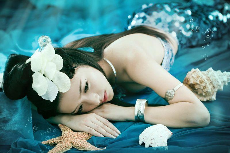 Beached Mermaid   La Beℓℓe ℳystère