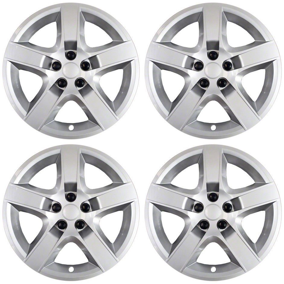 Brand New Set Of 4 17 Silver Hubcaps For 08 09 10 11 12 Chevy Malibu Ebay Chevy Malibu 2011 Chevy Malibu Malibu