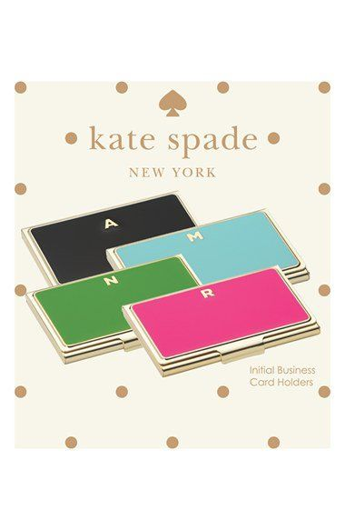 Kate Spade New York One In A Million Business Card Holder Nordstrom Business Card Holders Business Card Holder Wallet Card Holder