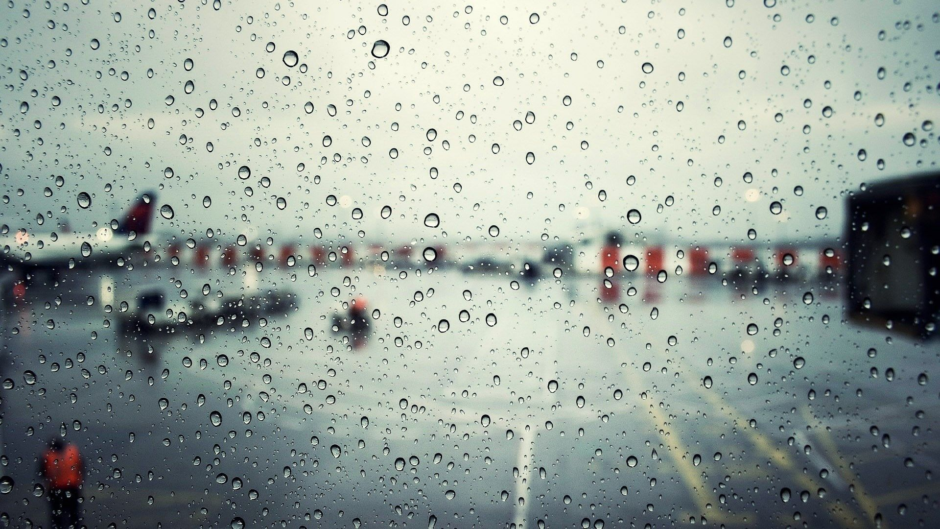 Rain Window Wallpaper Full Hd