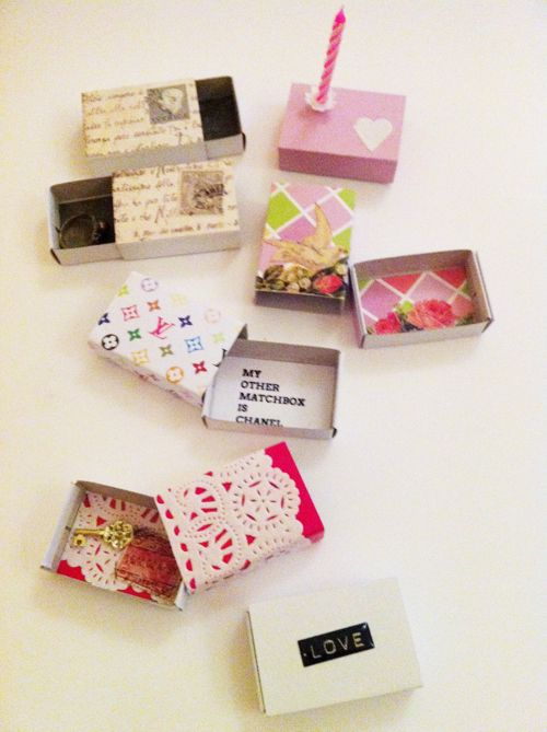 Matchbox Party Favors Seed Packet Candy Love Note