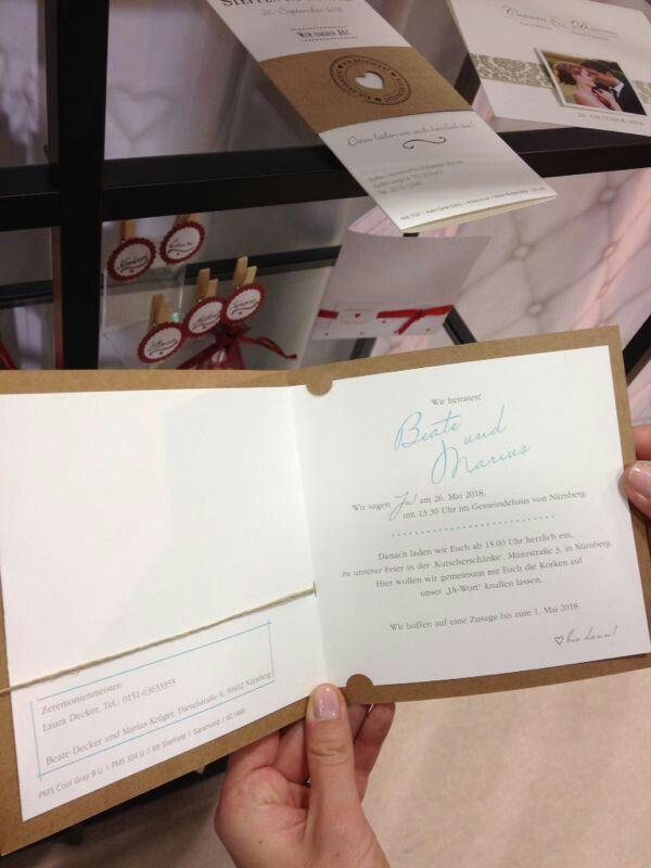 Hochzeit Messe In Berlin Einladung