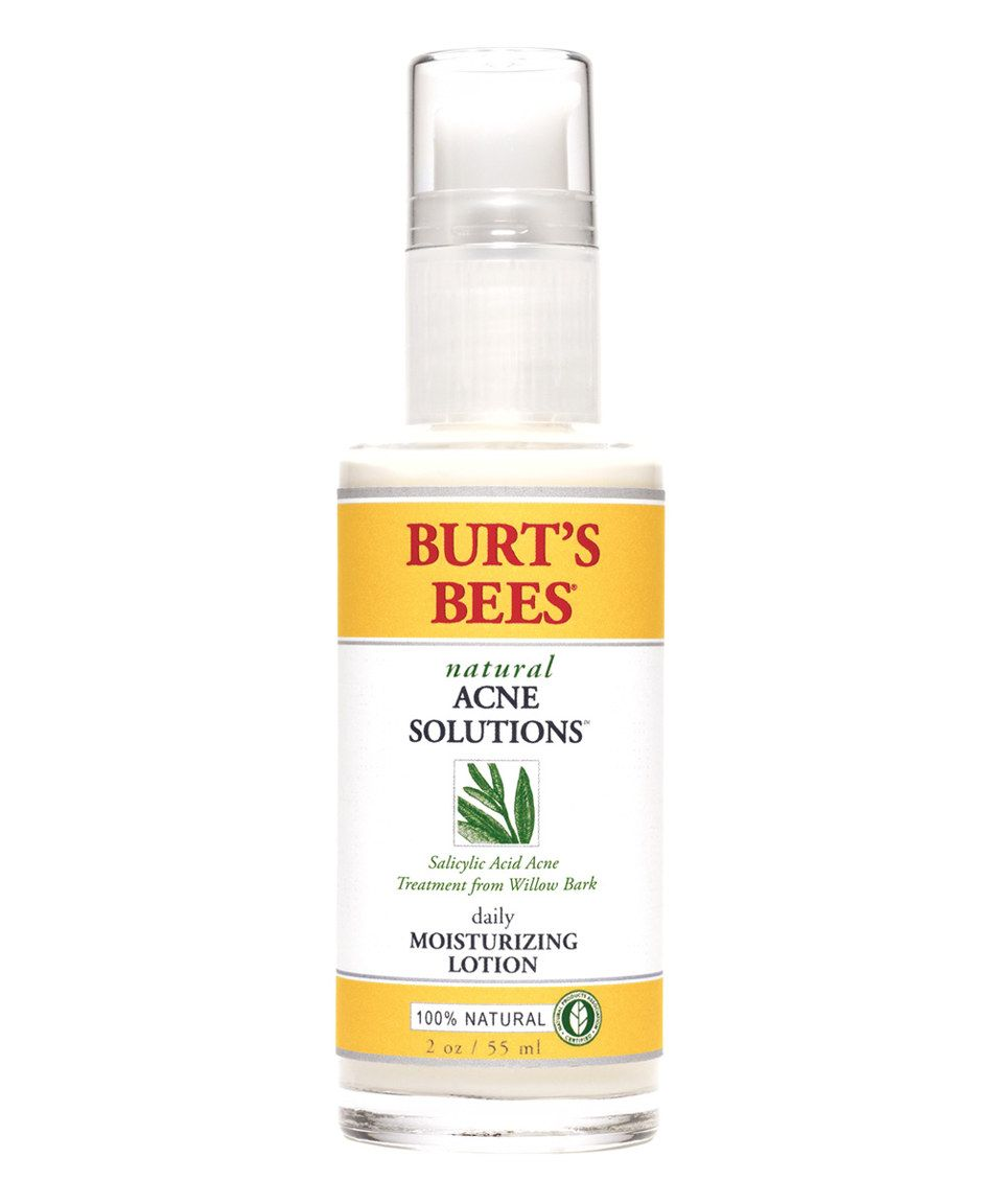 Burts bees acne daily moisturizing lotion by burts bees
