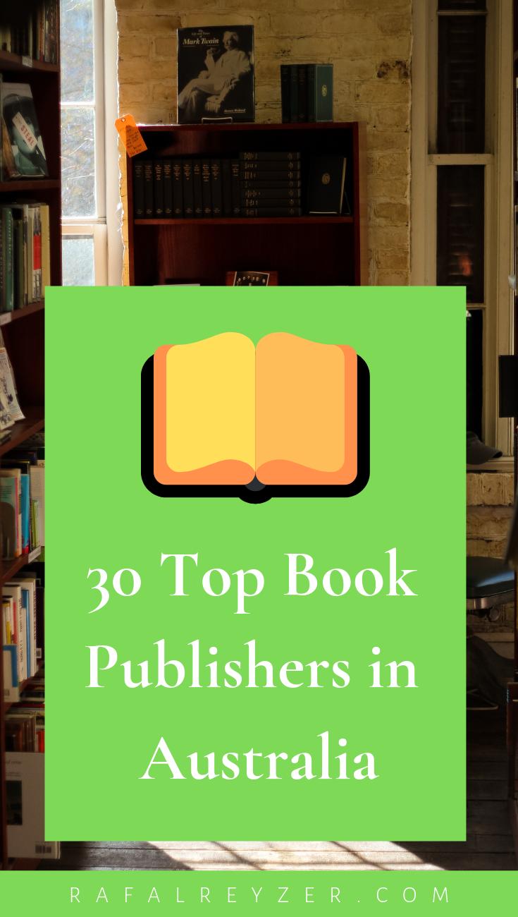 Top 28 Australian Book Publishers (Accepting Manuscripts)  Rafal