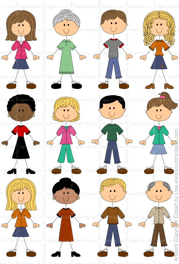 Stick Figures People Graphics And Clipart Samples 9 Stick Drawings Stick Figure Drawing Cartoon Drawings Of People