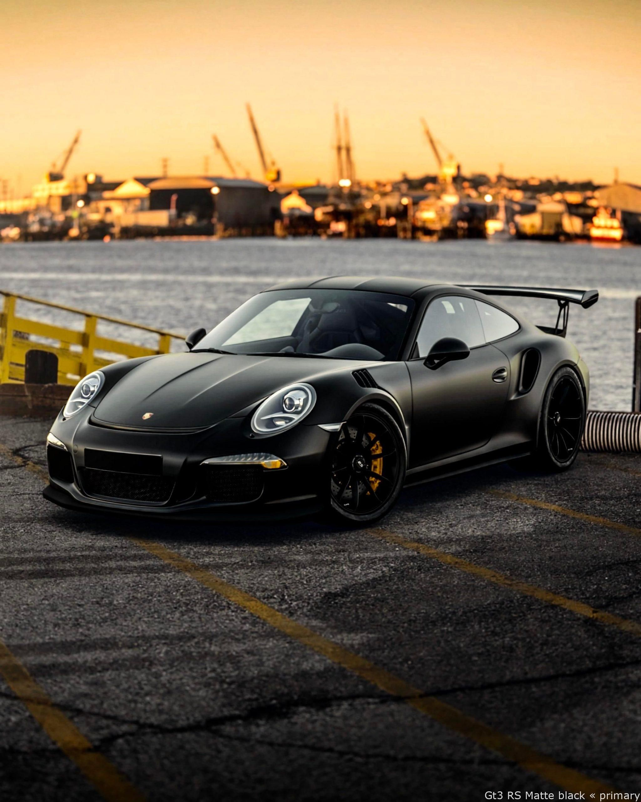 #Cars - Gt3 RS Matte black – formidable