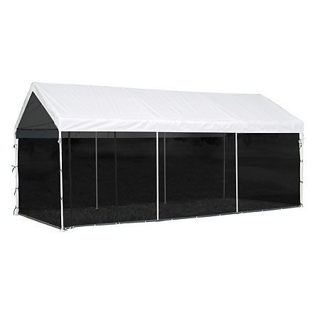 ShelterLogic 10 x 20 Canopy Screen Kit-430876 - Gander Mountain  sc 1 st  Pinterest : gander mountain canopy - memphite.com