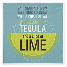 Buy Urban Graphic Salt Tequila Lime Greeting Card Online At Johnlewis