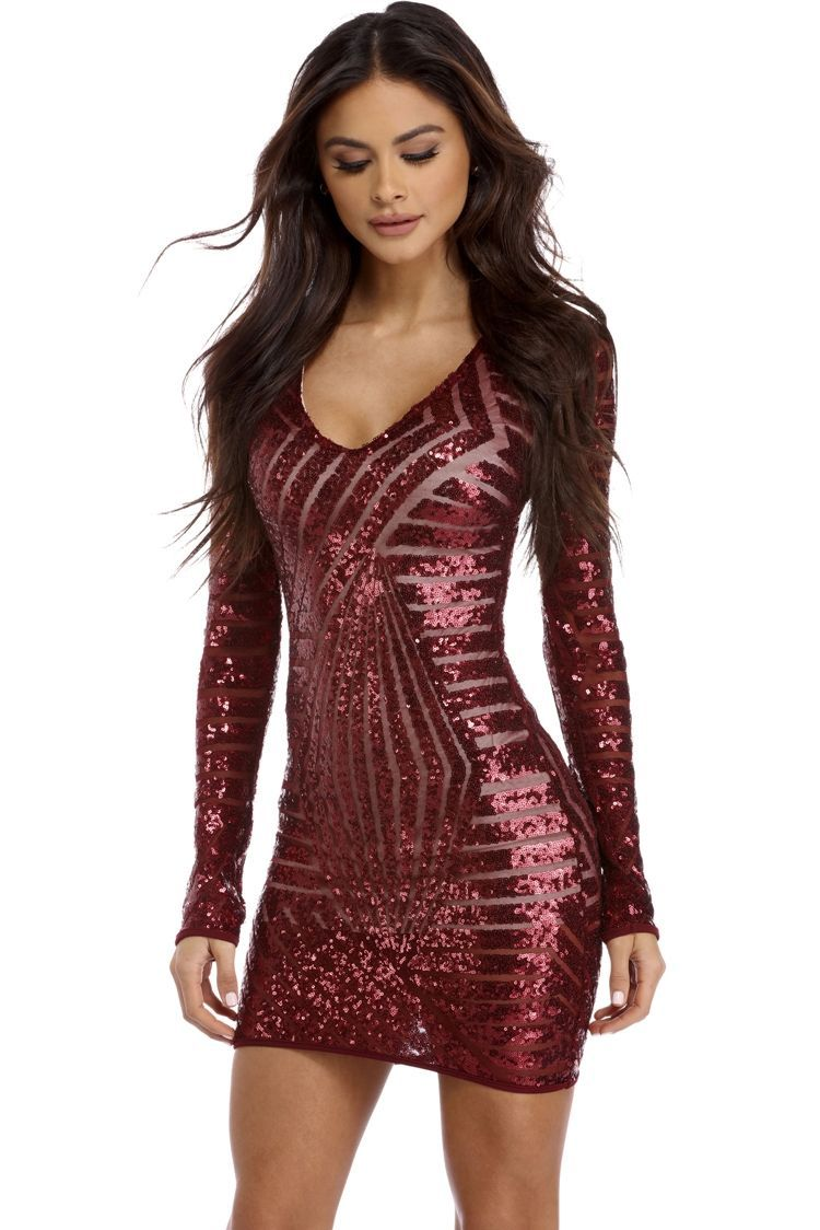 42929b6c42 BURGUNDY DIAMOND GIRL SEQUIN DRESS  fashion  trend  design  style  product   onlineshop  shoptagr