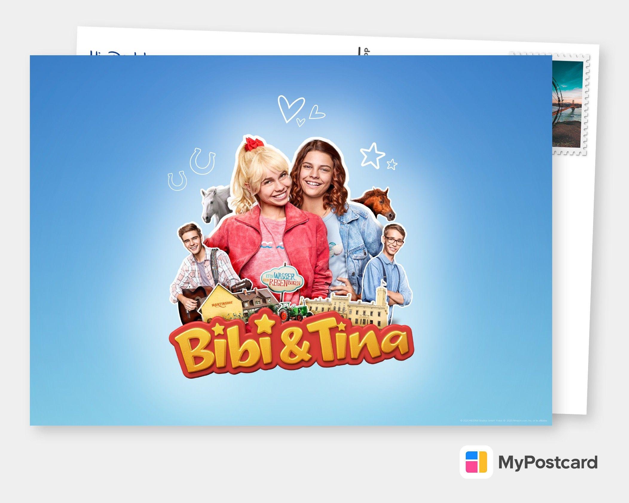 Bibi Tina Jetzt In Serie Film Musik Karten Echte Postkarten Online Versenden Postkarten Karten Postkarten Online