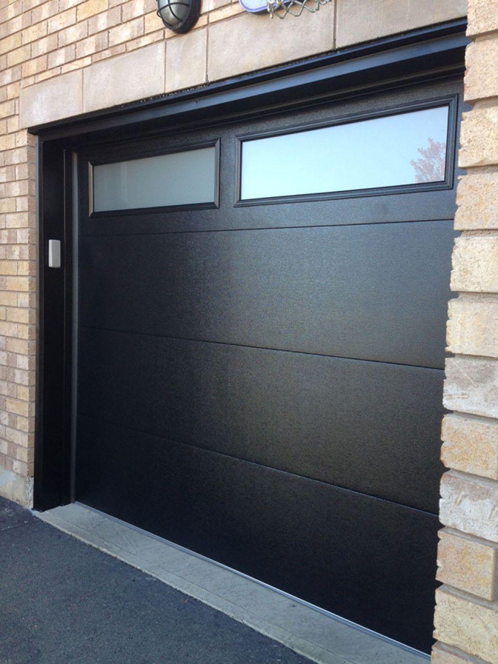 Distinctive garage door windows