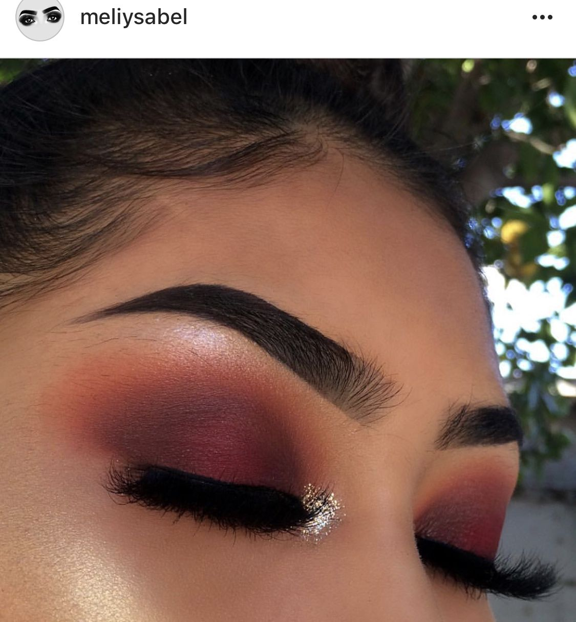 Glitter Neutral Make Up Glam Look Red Smokey Makeup Looks Skin