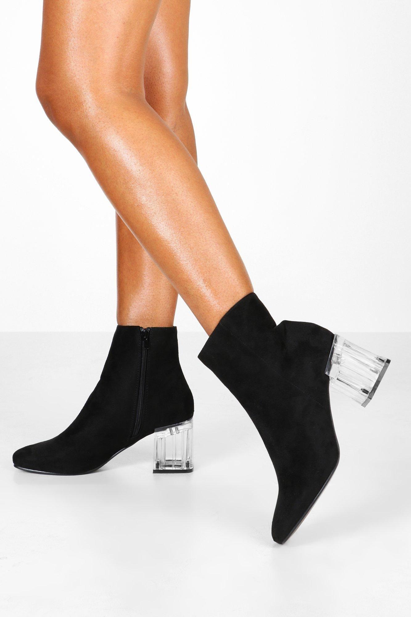 Low block heel shoes, Boots, Shoe boots