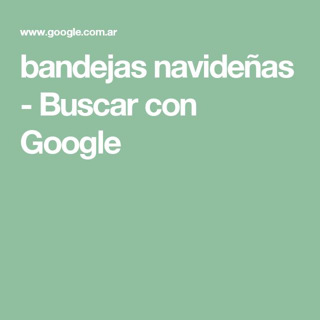 bandejas navideñas - Buscar con Google