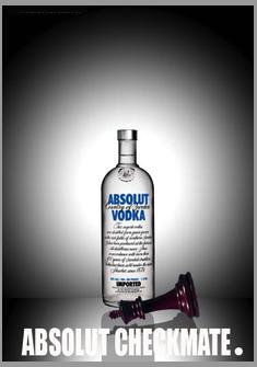Checkmate Creation By Mhlanhla Mahlangu Zaf Absolut Vodka Vodka Absolut
