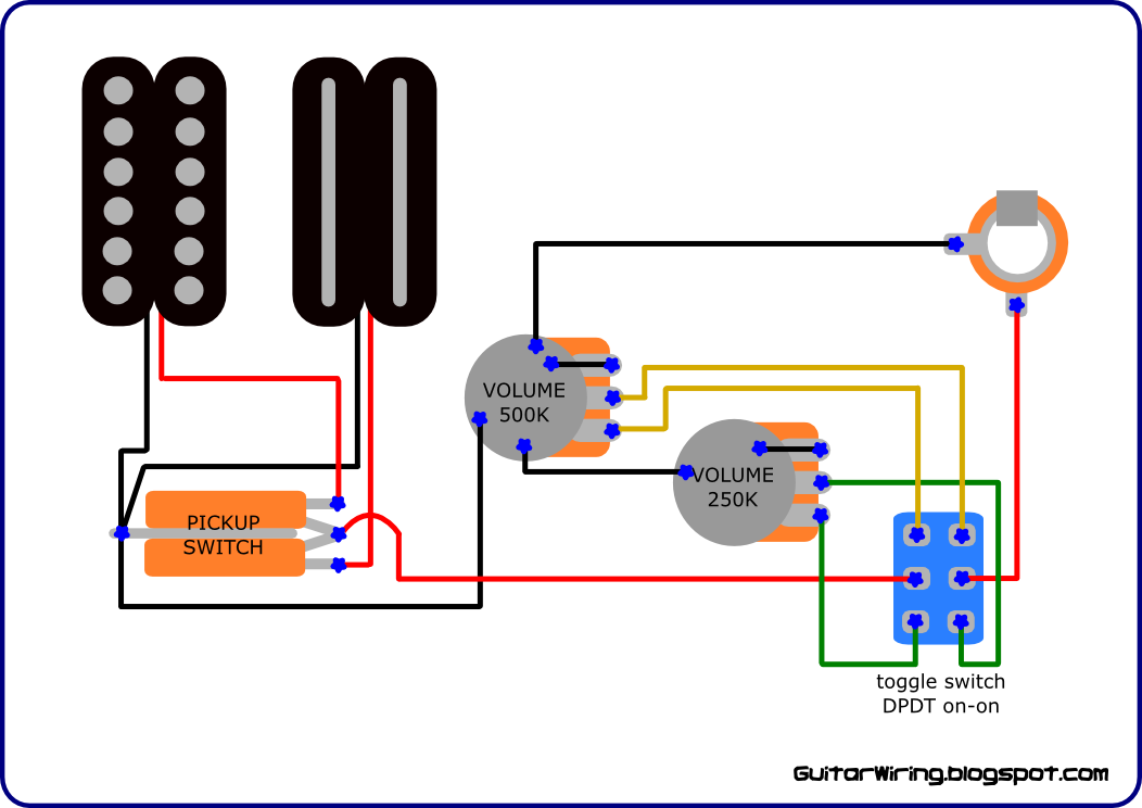 cd334aec157137353a232d650a83a0e2 the guitar wiring blog diagrams and tips custom wiring for electric guitar pickup wiring diagrams at n-0.co