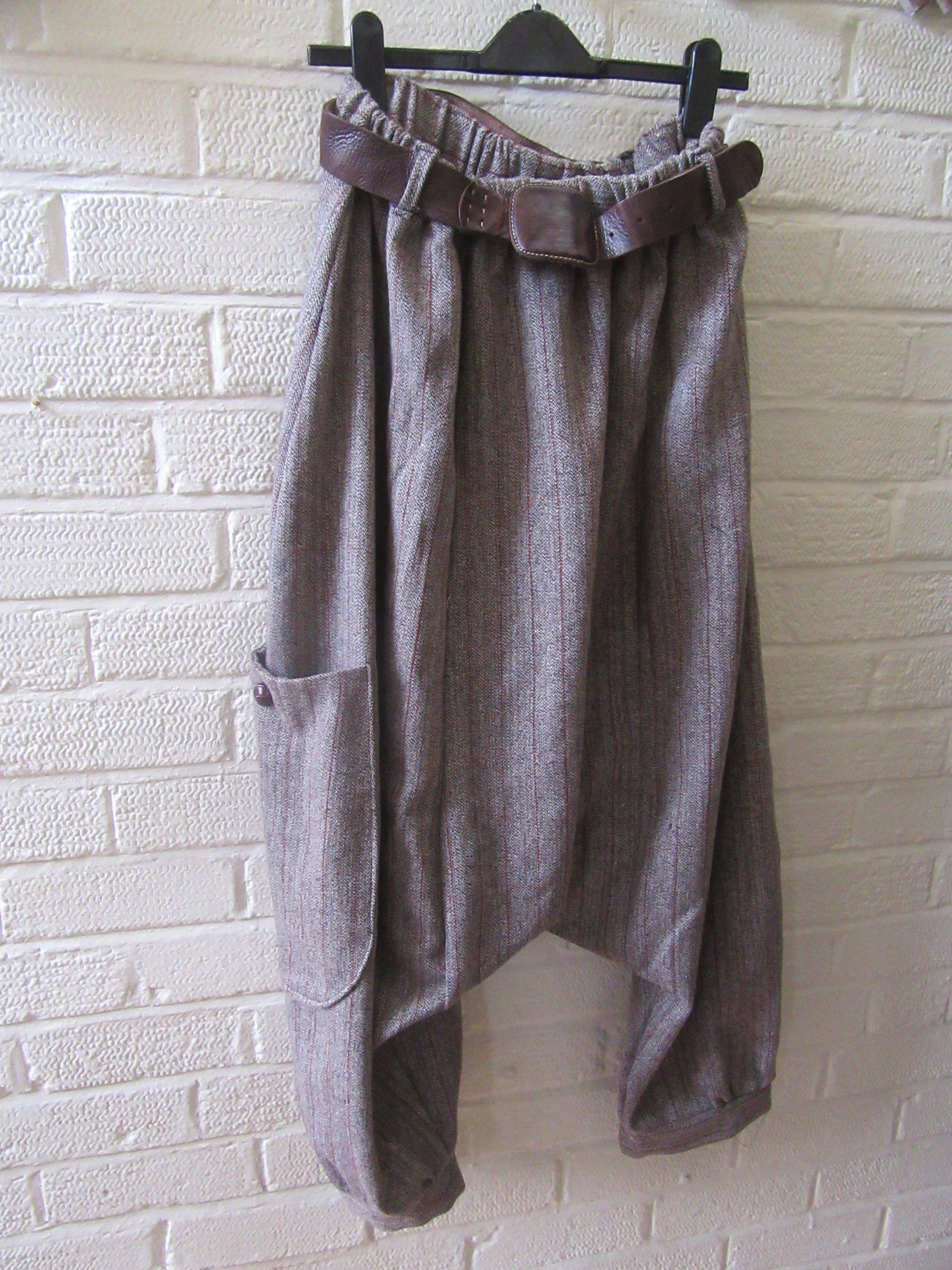5ba8ae221a17 Quirky Lagenlook dropped crotch.pantaloons