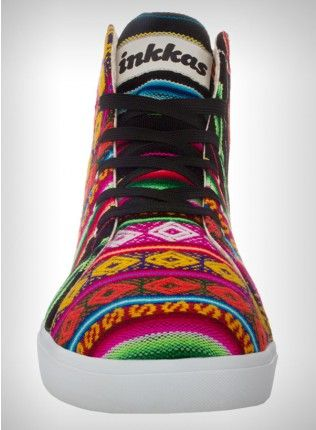 Cotton Candy inkka hi top trainers   Groovy shoes! A portion