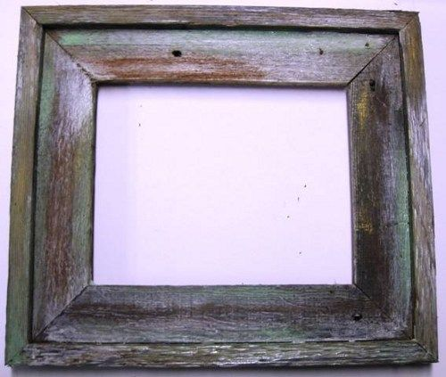 8x10 distressed wood frame or made to order - Distressed Wood Frames