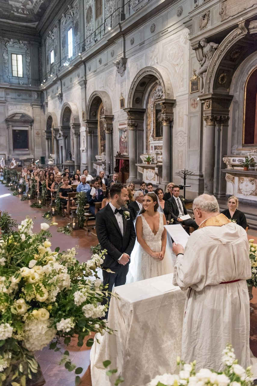 » Anna-Maria & Andrea's Traditional Italian Wedding in Florence