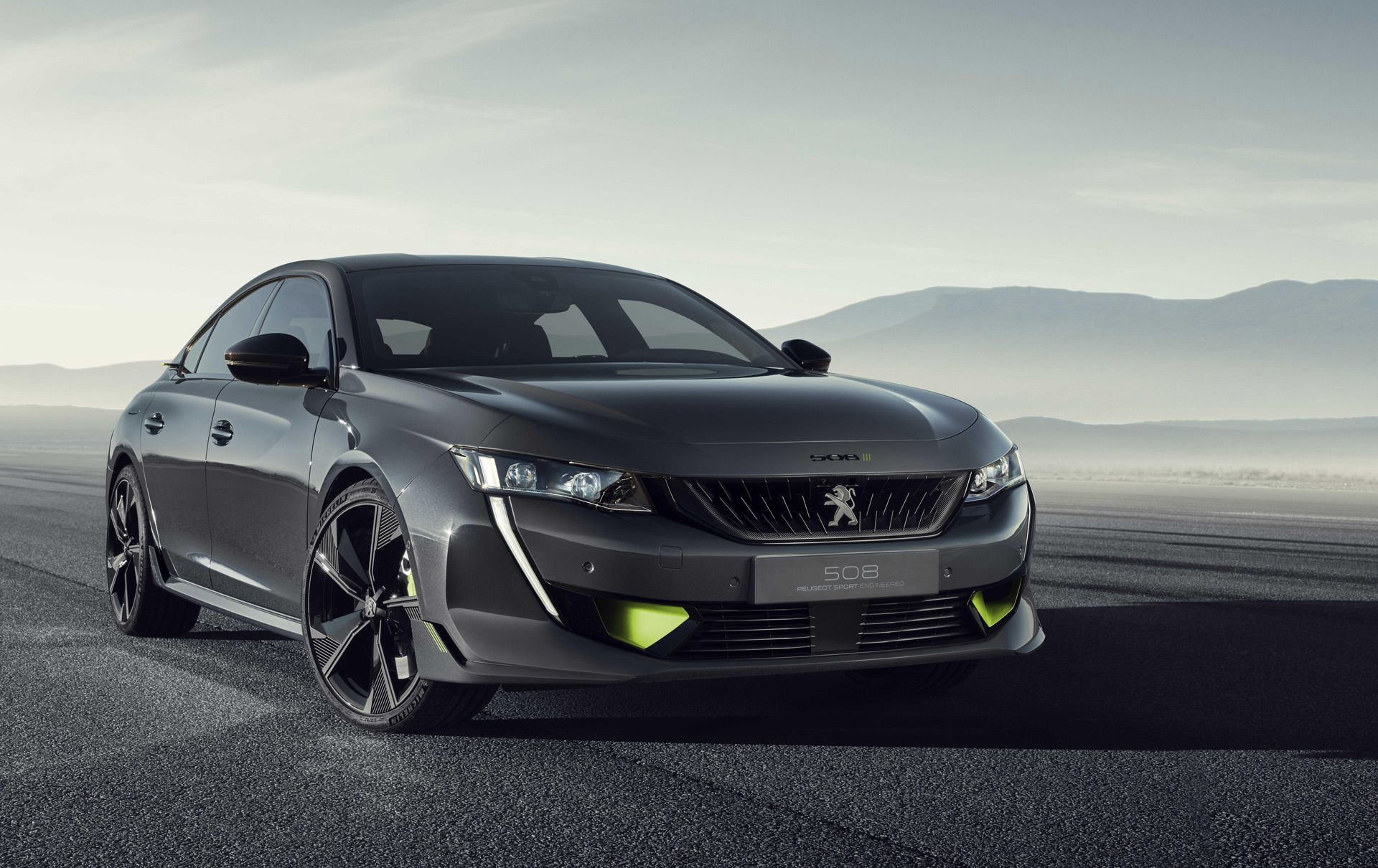 Peugeot Previews Performance Hybrid Lineup With 508 Sport Sedan
