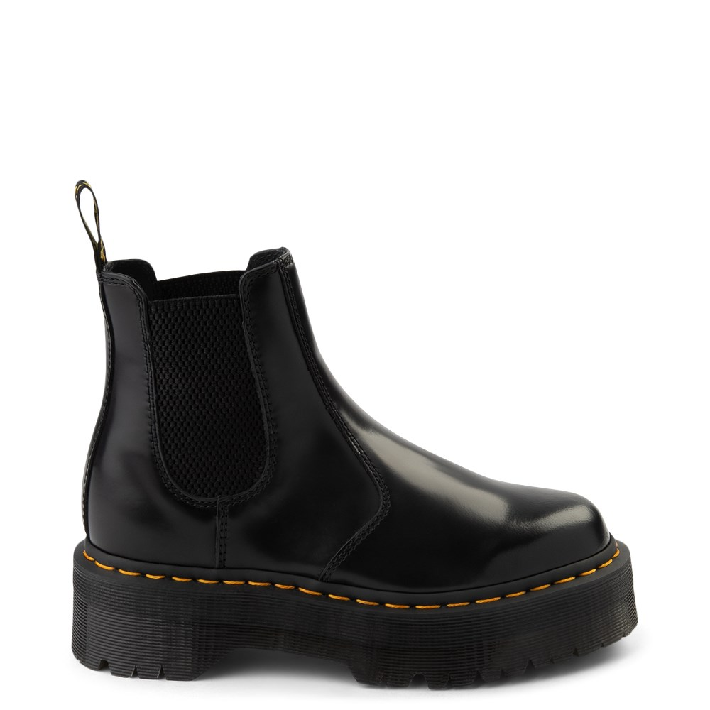 dr martin platform boots
