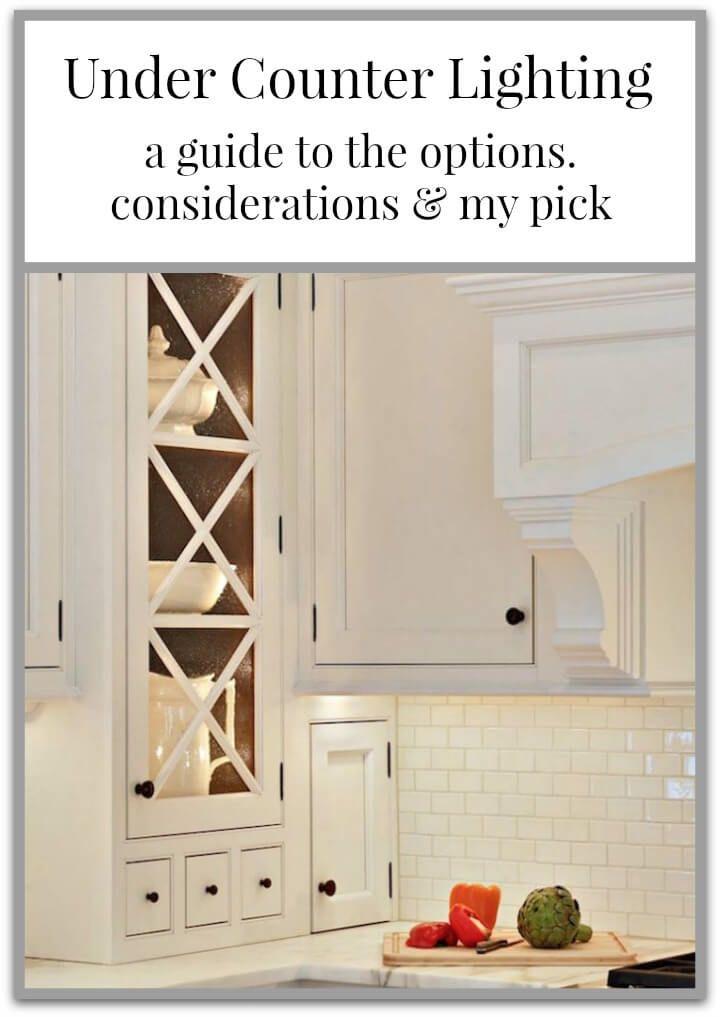 under counter lighting a 101 guide kitchen decor pinterest rh pinterest com