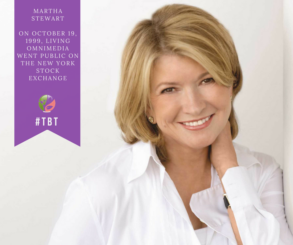 Martha Stewart Launches Its Initial Public Offering Raising Close To 130 Million On Its First Day Of Trading Stewart Becomes A With Images Hair Part Theory Parting Hair